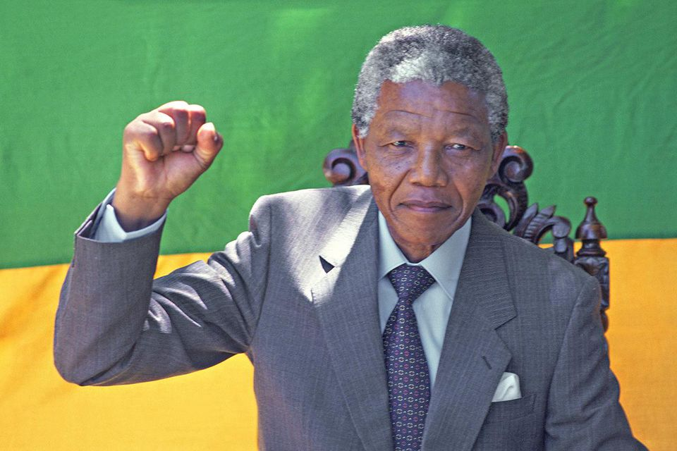 South African President Nelson Mandela Biography