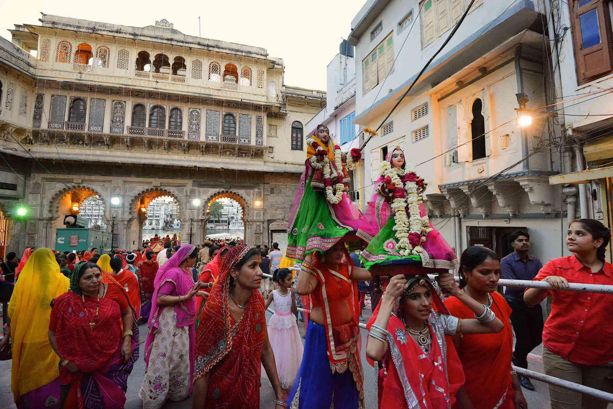 Gangaur Festival, Udaipur.