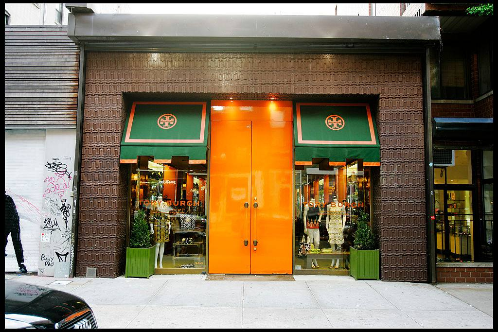 The Tory Burch Sop in NYC