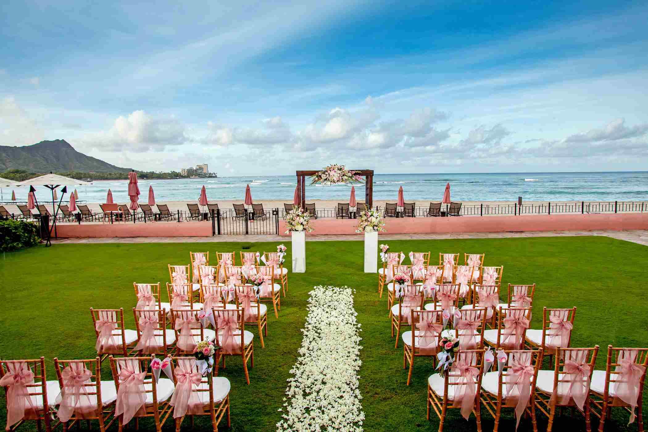 wedding accomodations at royal hawaiian