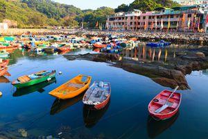 Cheung Chau harbor