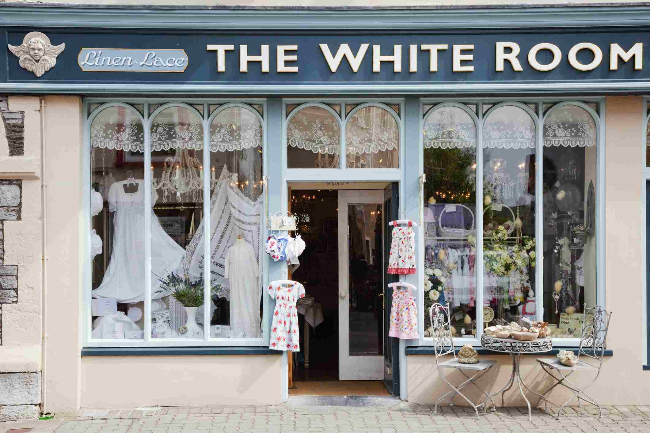 The White Room On Henry Street in Kenmare County Kerry Ireland