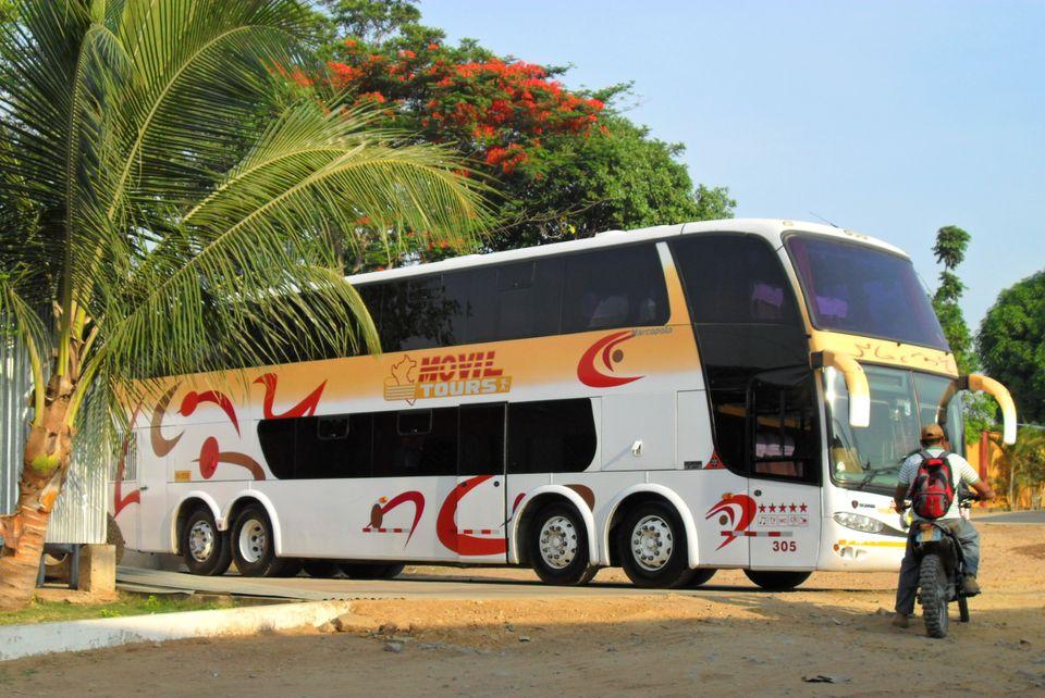 Movil Tours bus company in Peru