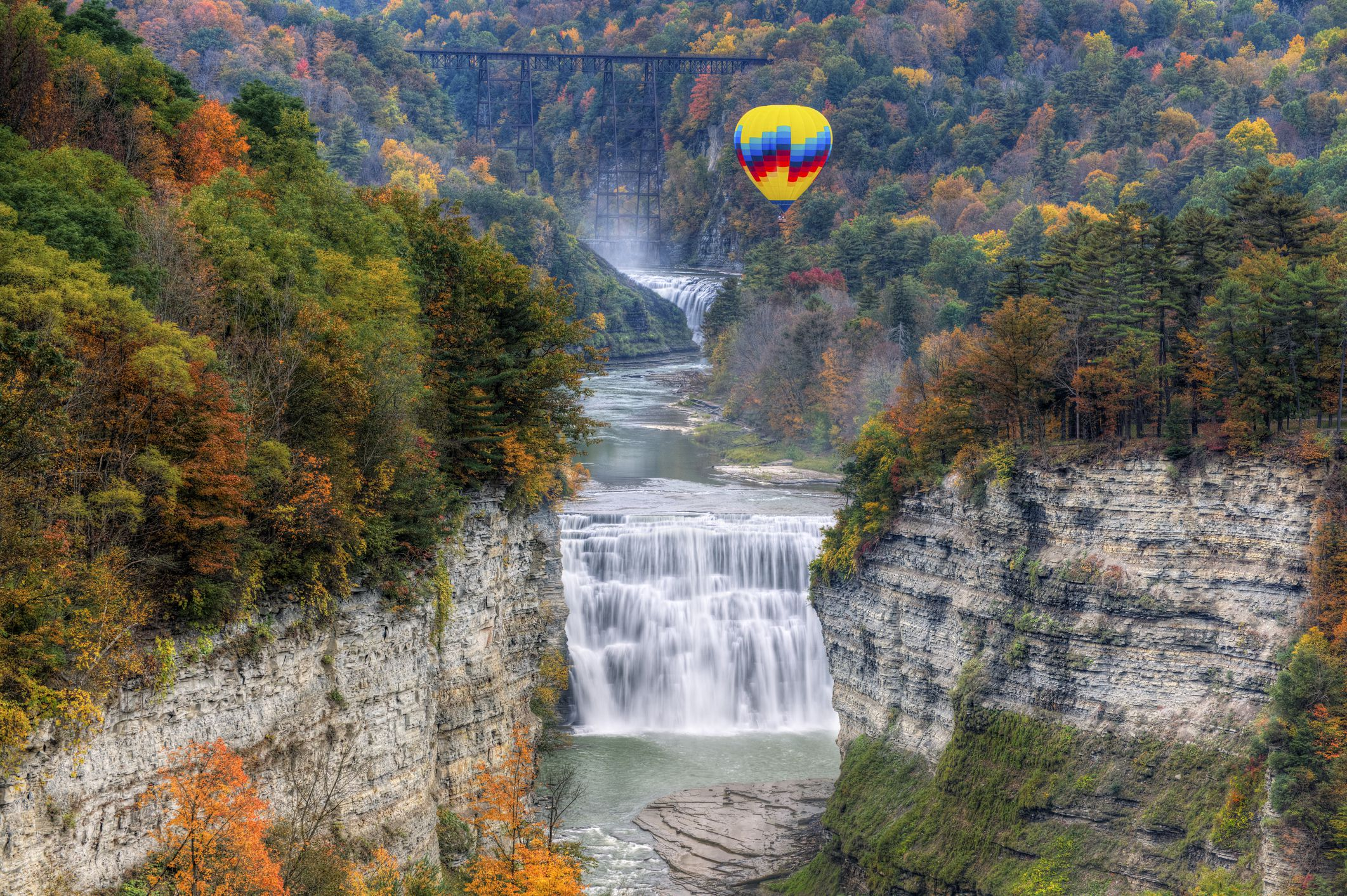 Letchworth State Park Near Rochester