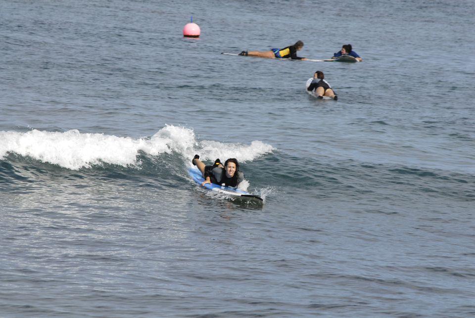 Boardsurfer at Kaanapali Beach