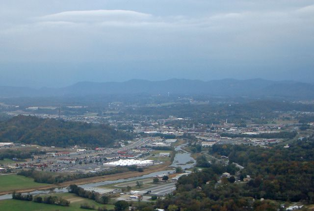 Sevierville arial view