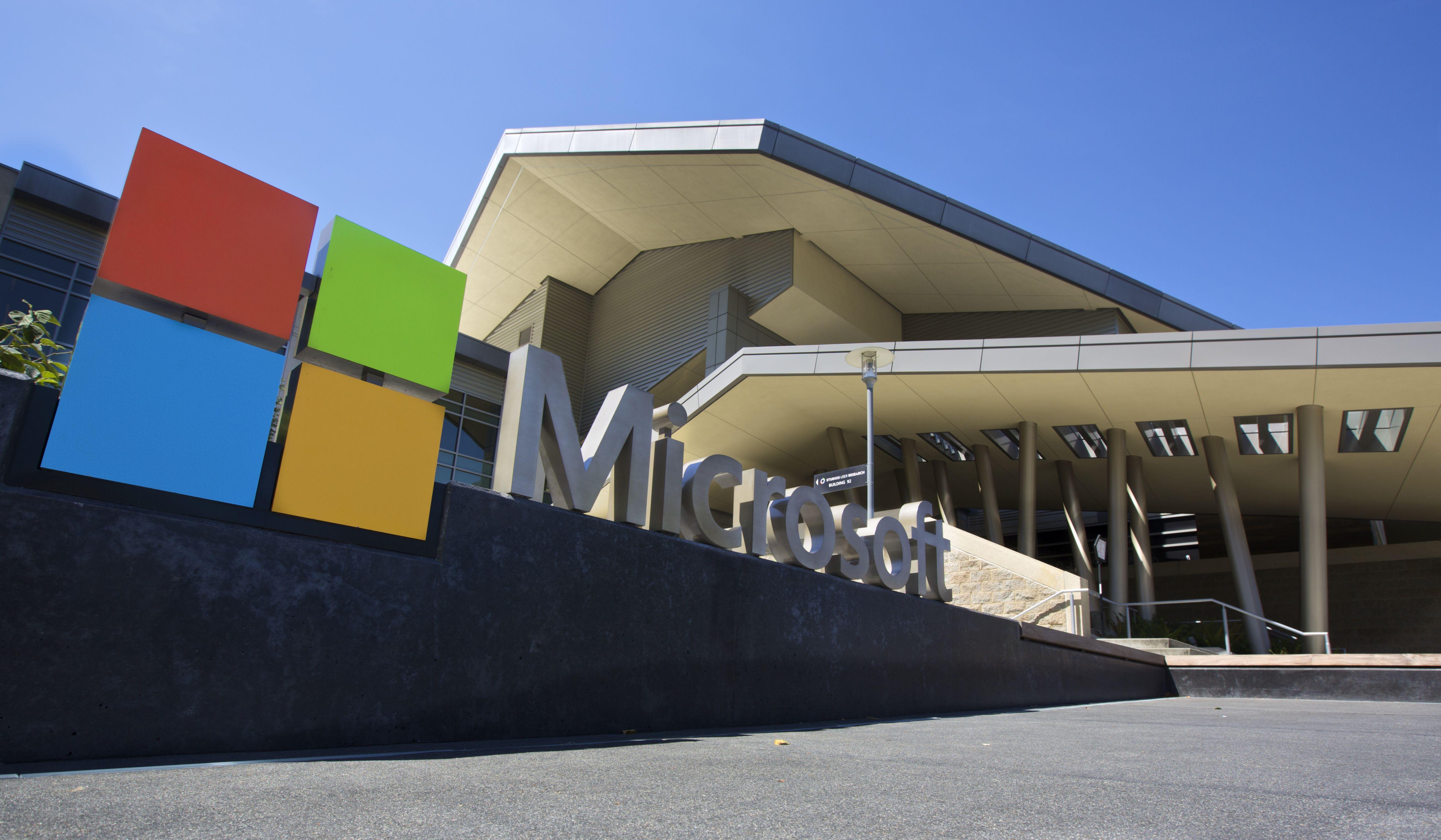 Centro de visitantes de la sede de Microsoft