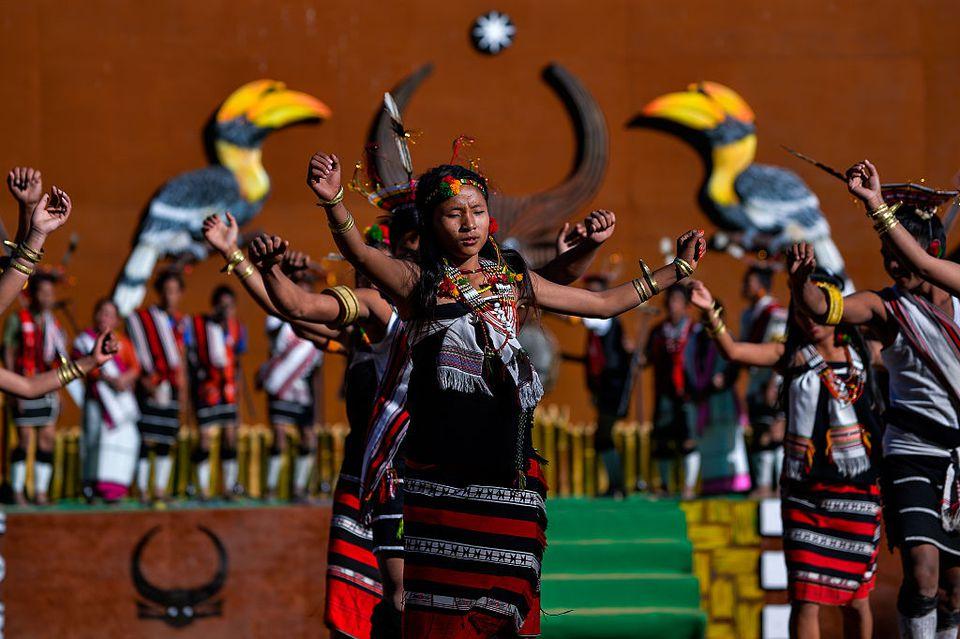 Hornbill festival, Nagaland.