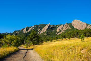 Chautauqua Park in Boulder, Colorado