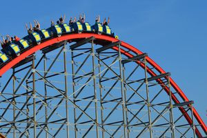 Kentucky Kingdom roller coaster