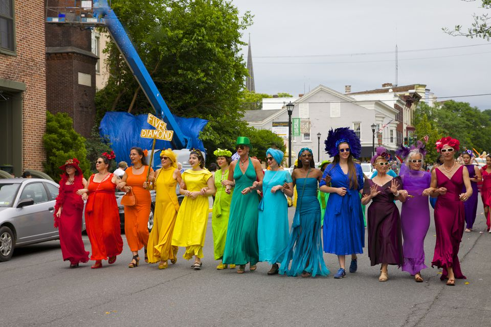 Pride Parade, Hudson, New York