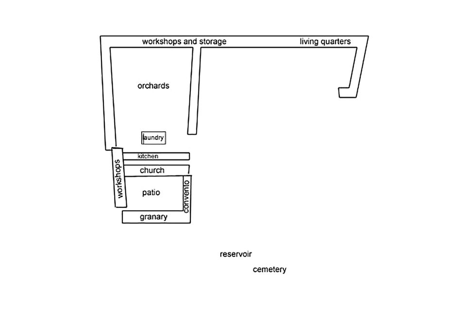 quick guide to mission santa barbara 90 Feet Tall mission santa barbara layout and floor plan