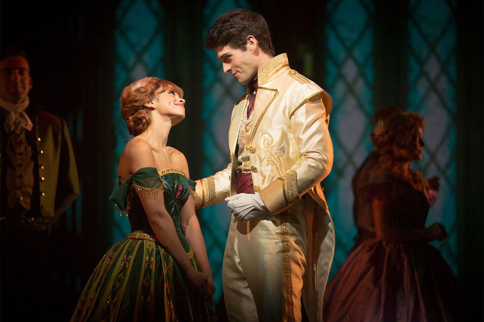Prince Olaf Meets Anna in Frozen - Live at the Hyperion