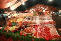 Food stand in Djemma el Fna