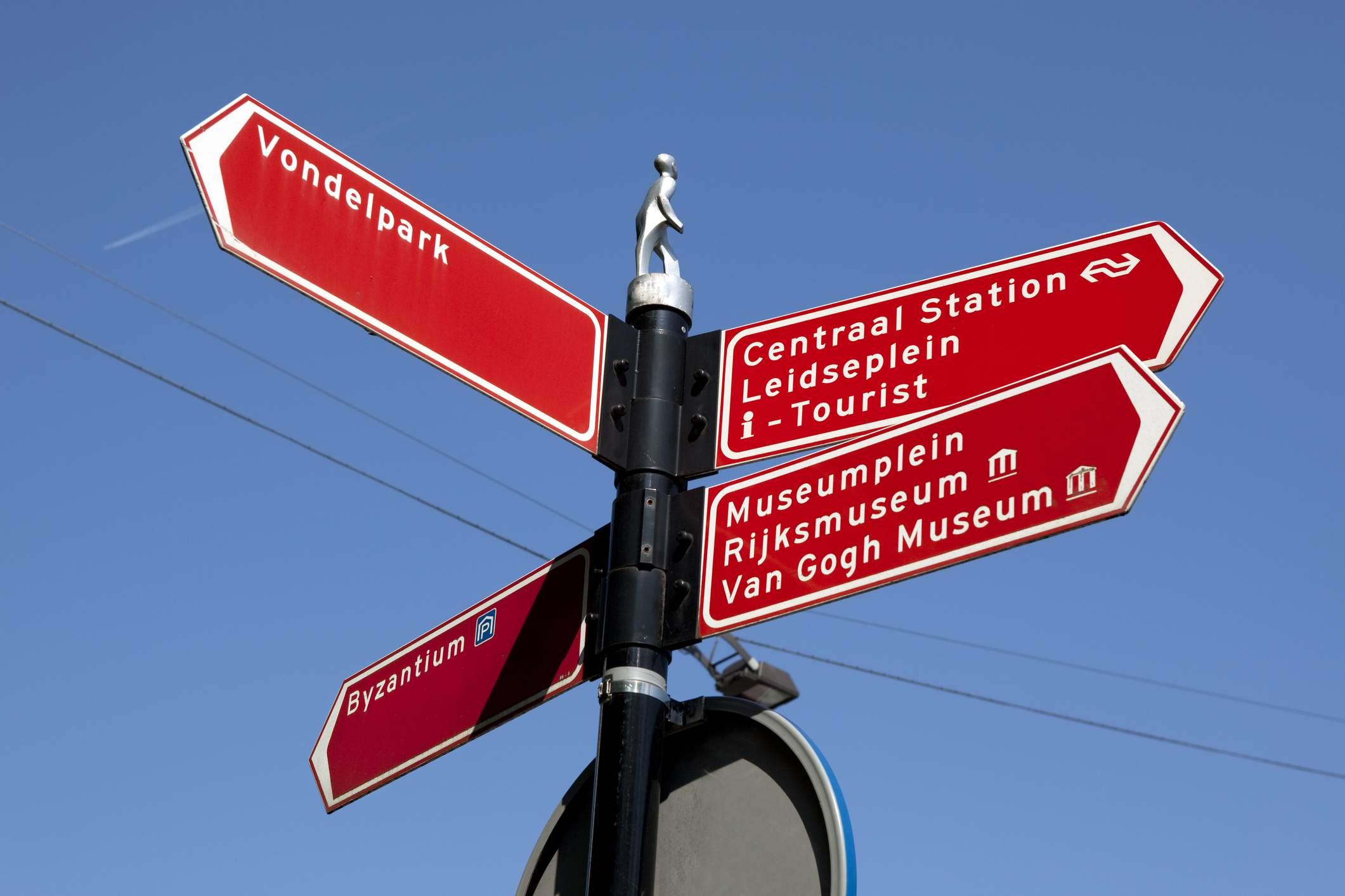 Todas las señales apuntan a los museos de Amsterdam