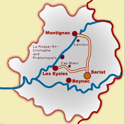 Travel Guide And Location Maps For Dordogne France