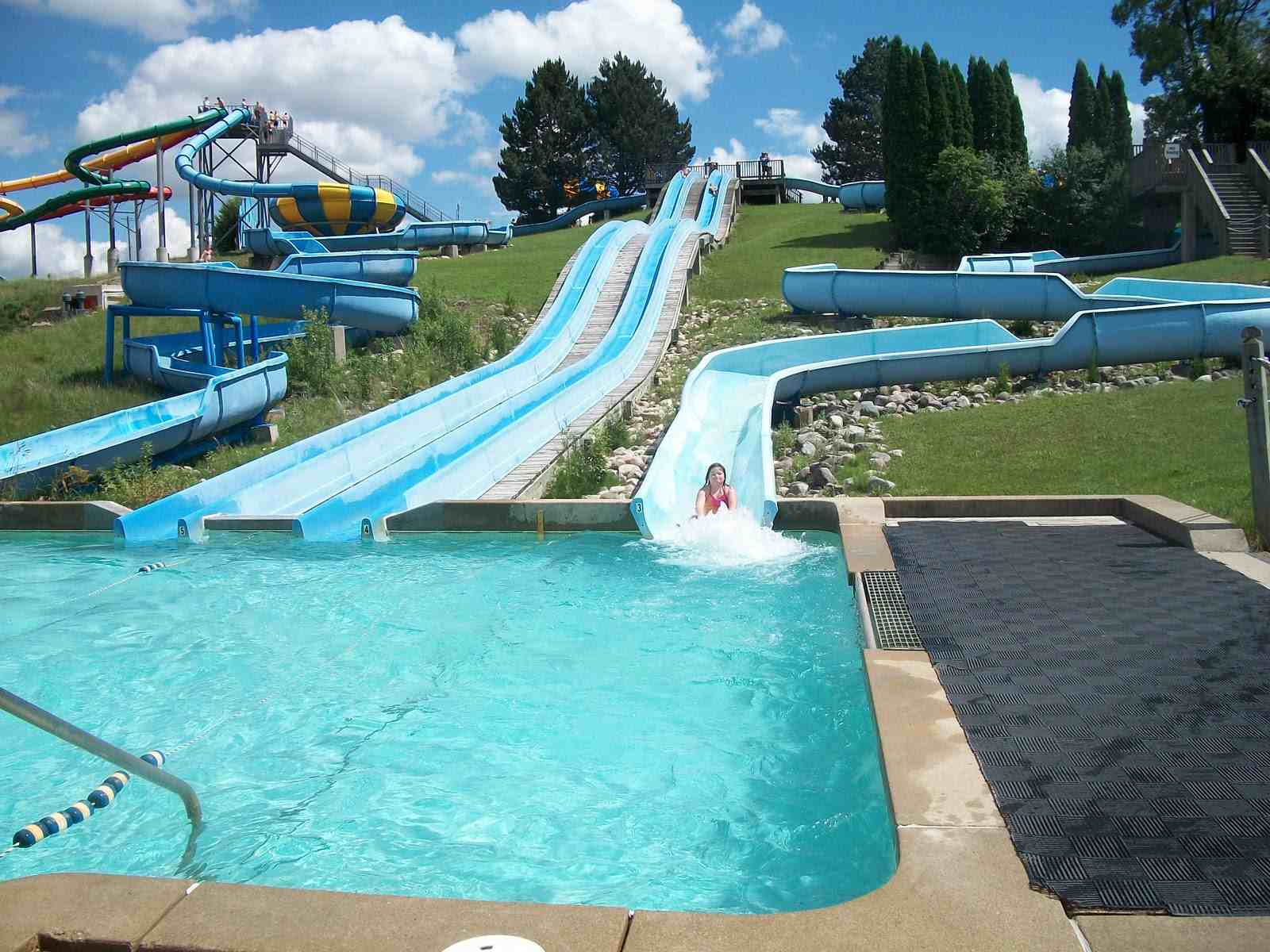 Bingemans is a park in Kitchener/Waterloo, Ontario, featuring an array of activities aimed especially at kids under 15.