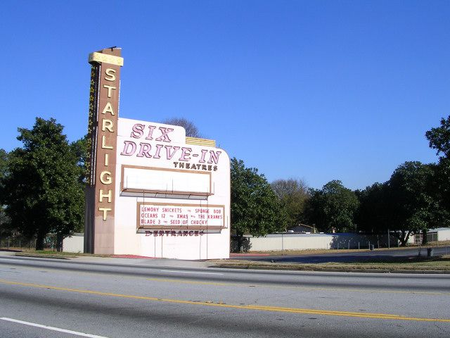 Atlanta S Best Outdoor Movies And Drive In Theaters
