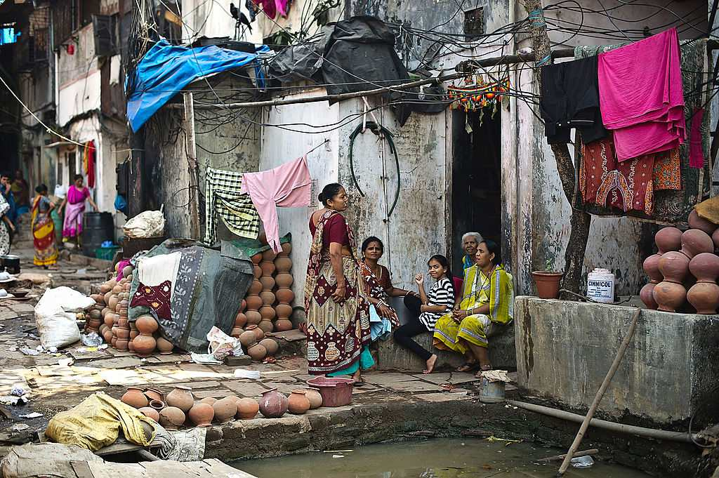 Residents of Dharavi.