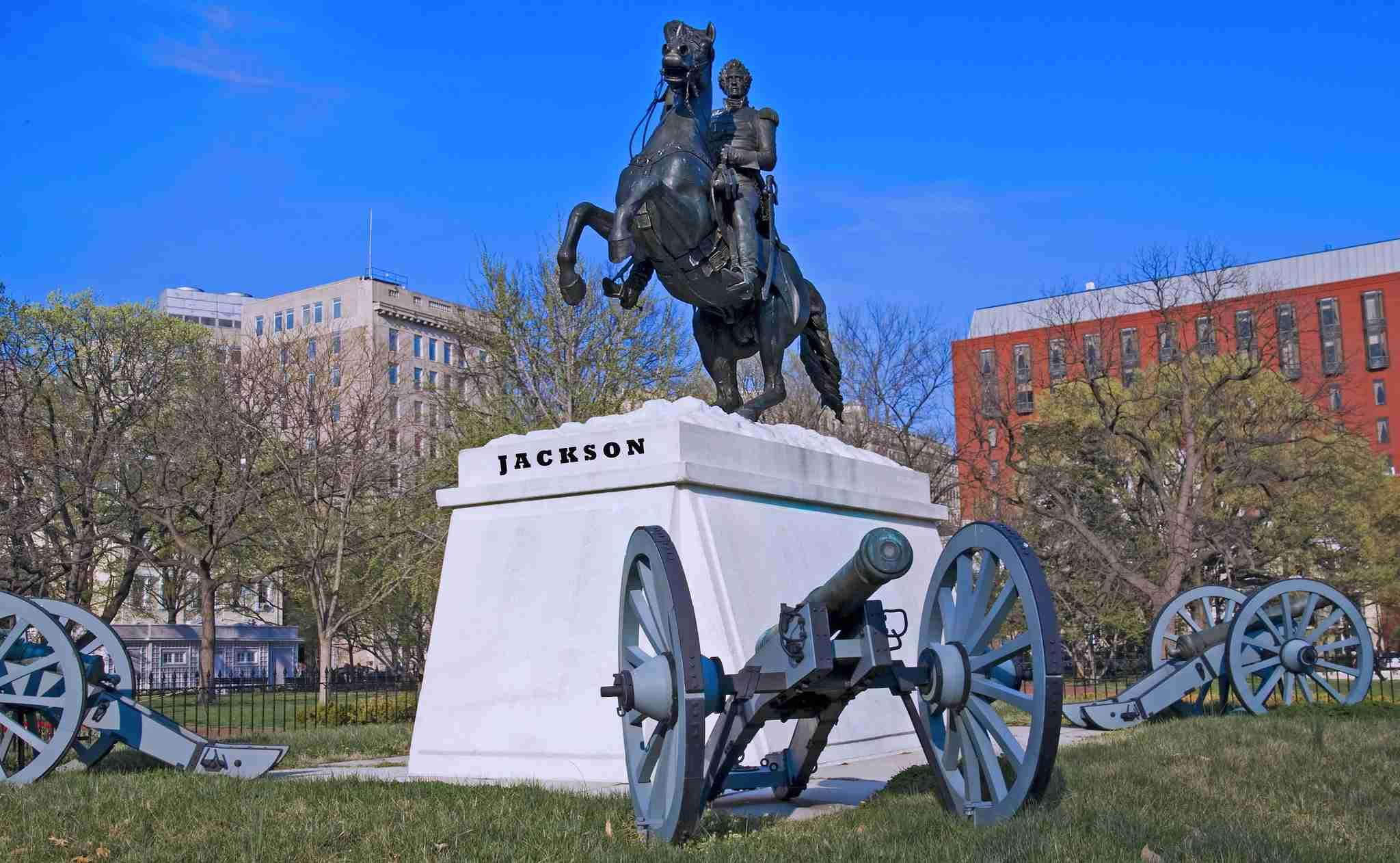 President Andrew Jackson Statue -- Lafayette Park NW Washington (DC)
