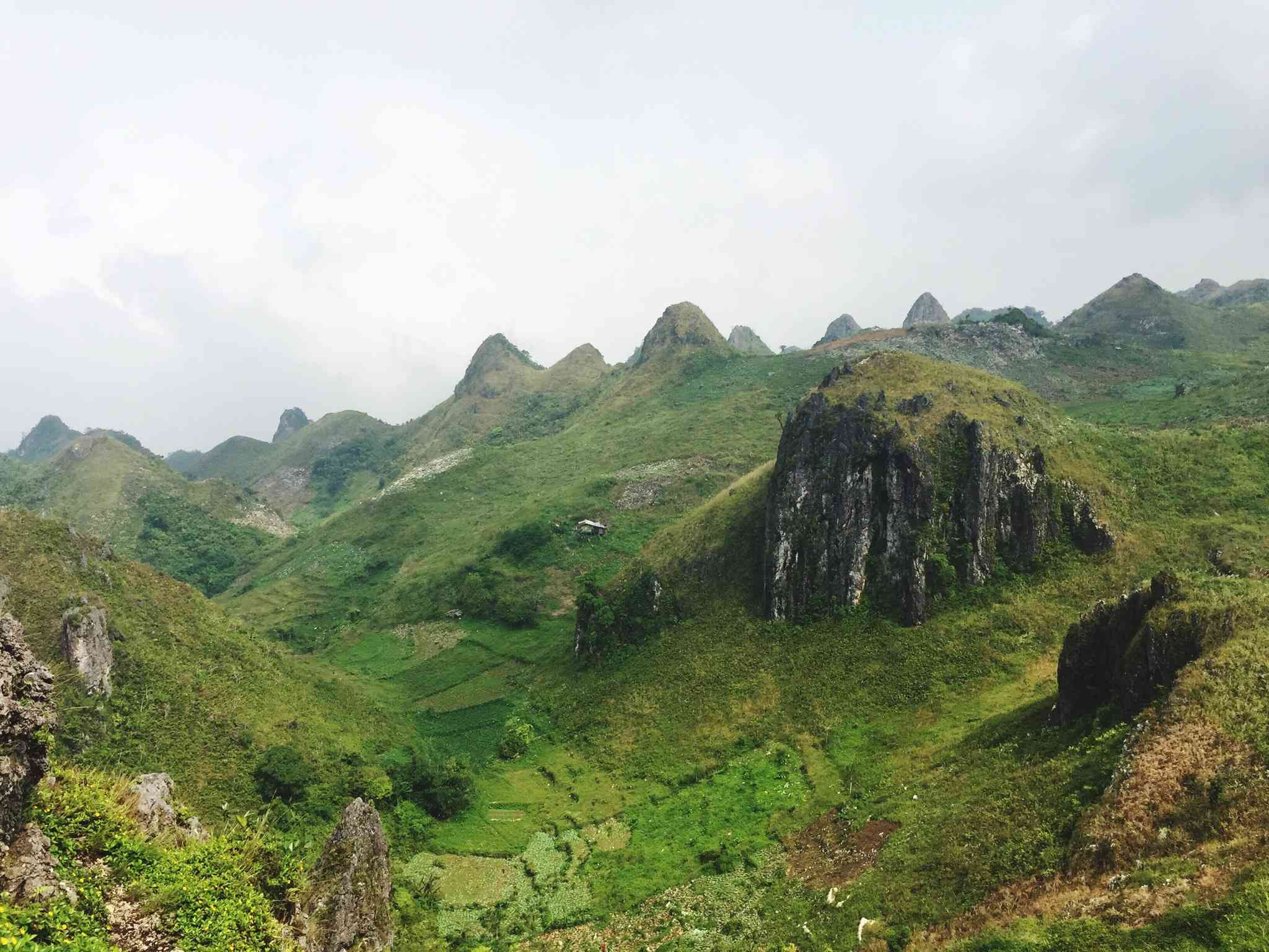 Osmeña Peak landscape, Cebu