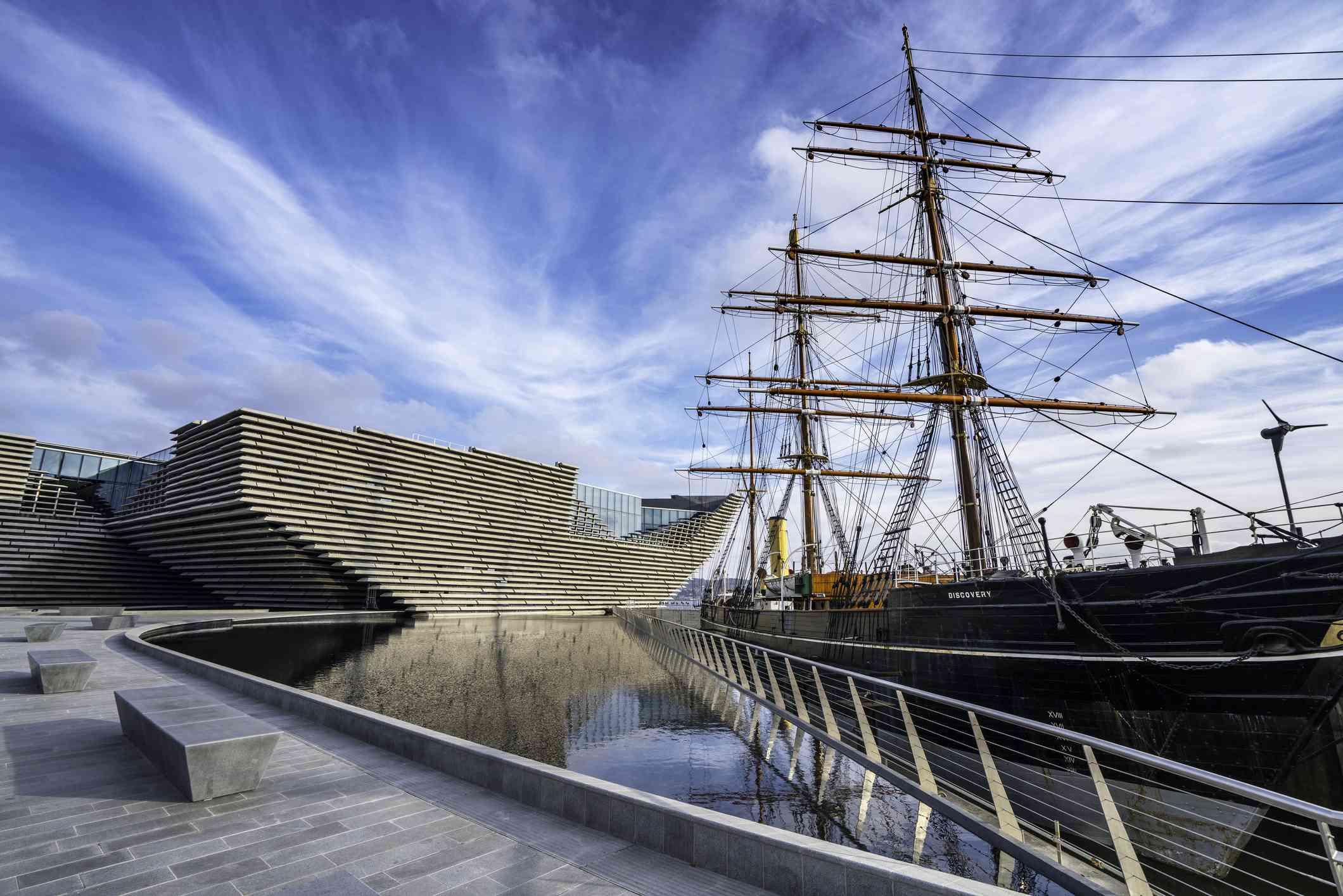 The new V&A and the RSS Discovery in Dundee