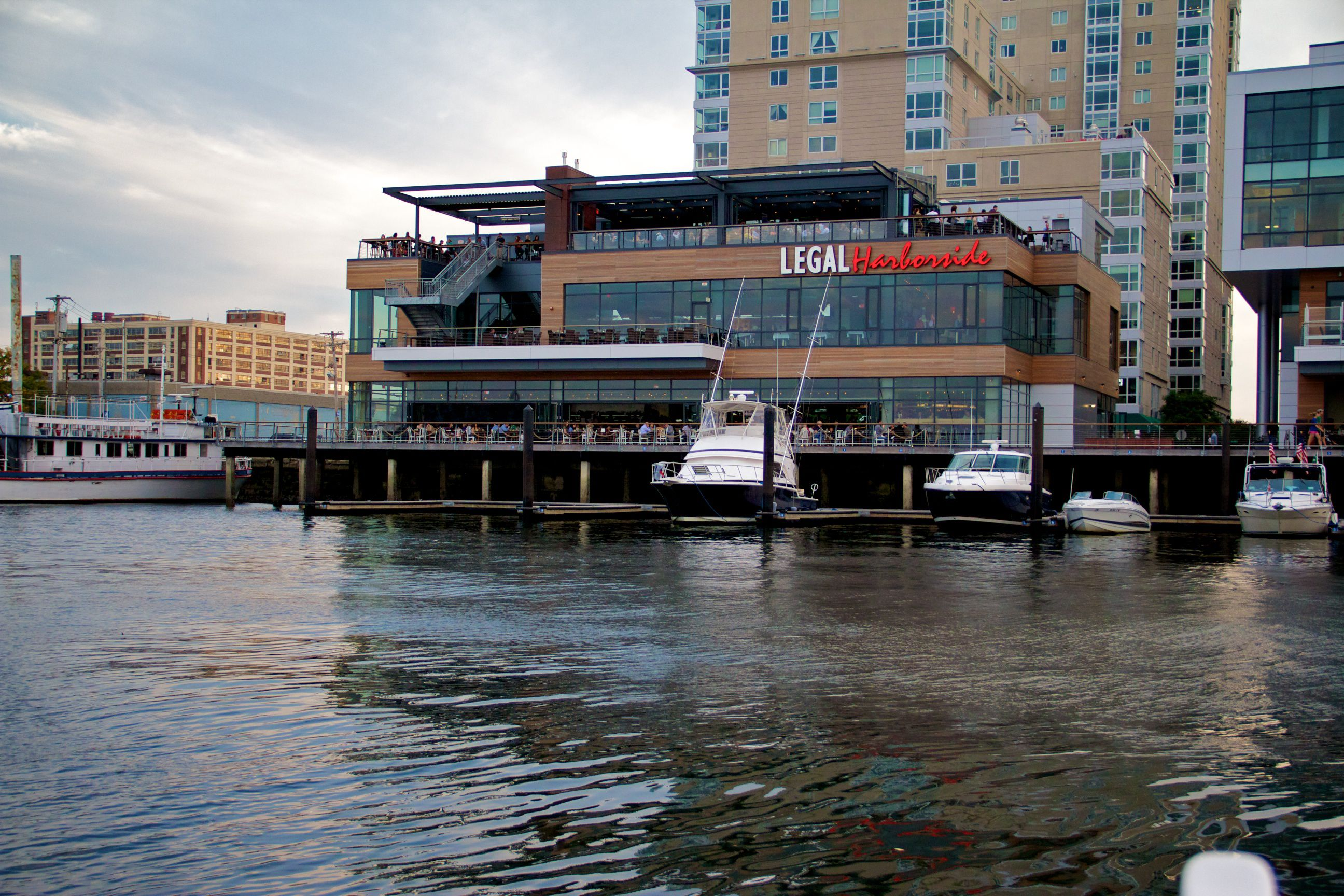 Boston Rooftop Bars For Dinner And Drinks With A View