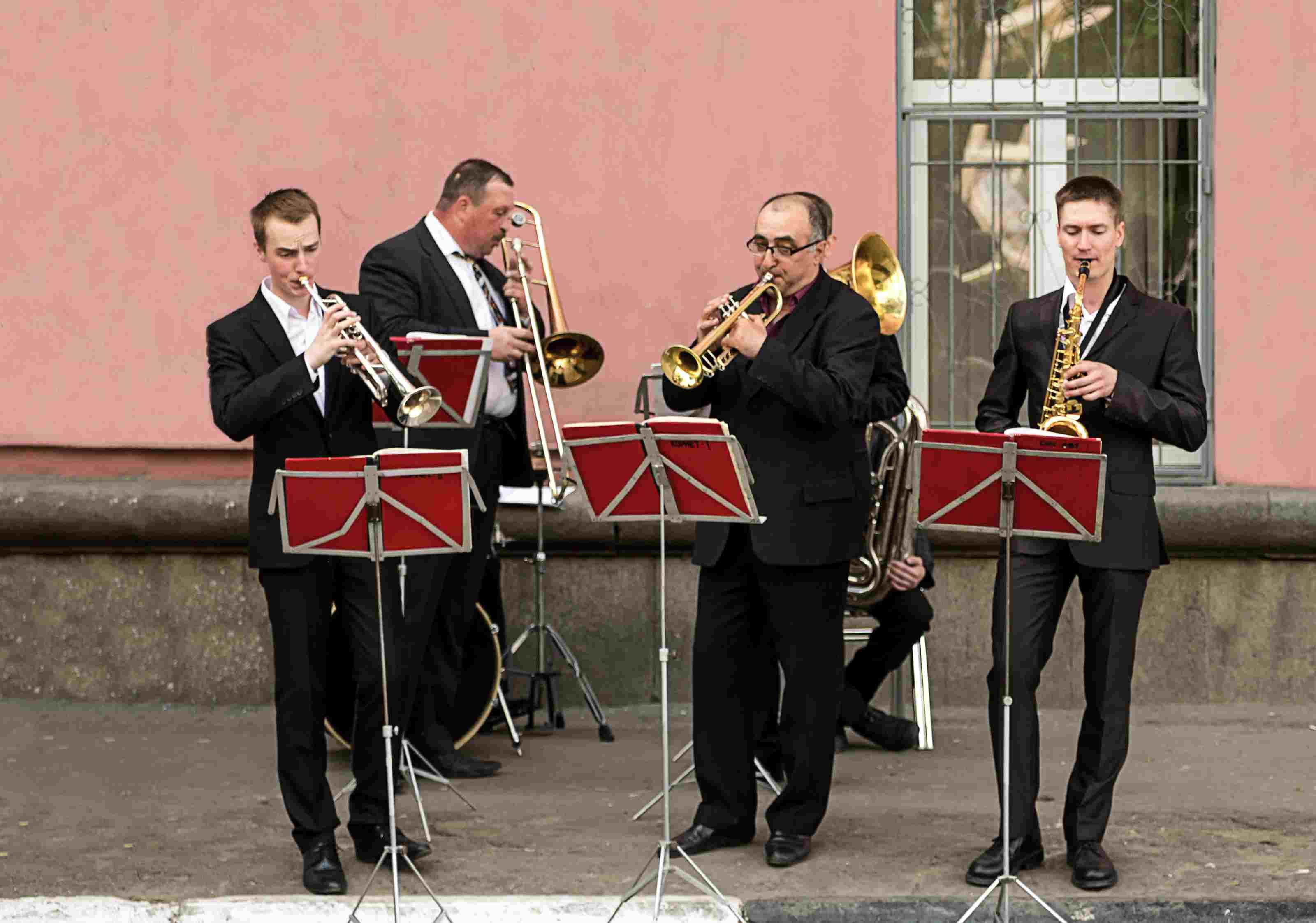 musicians at the Kazan Jazz Festival