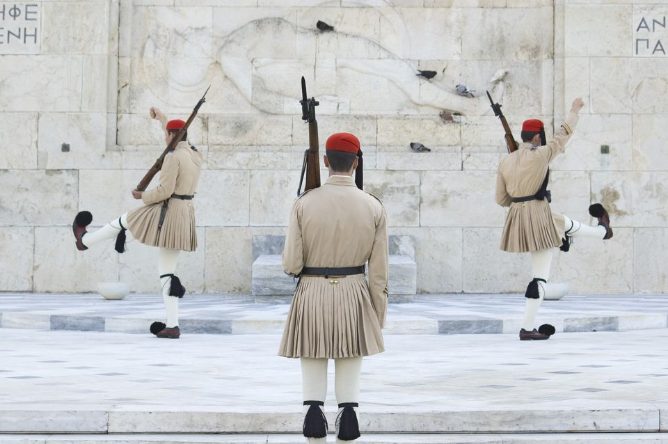 Changing of the Guard in Athens