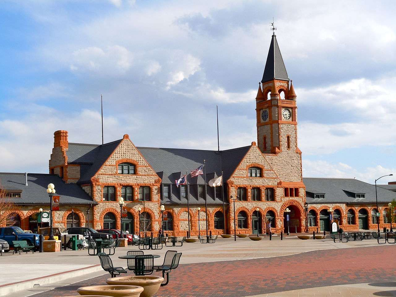 The Cheyenne Depot Museum and Plaza
