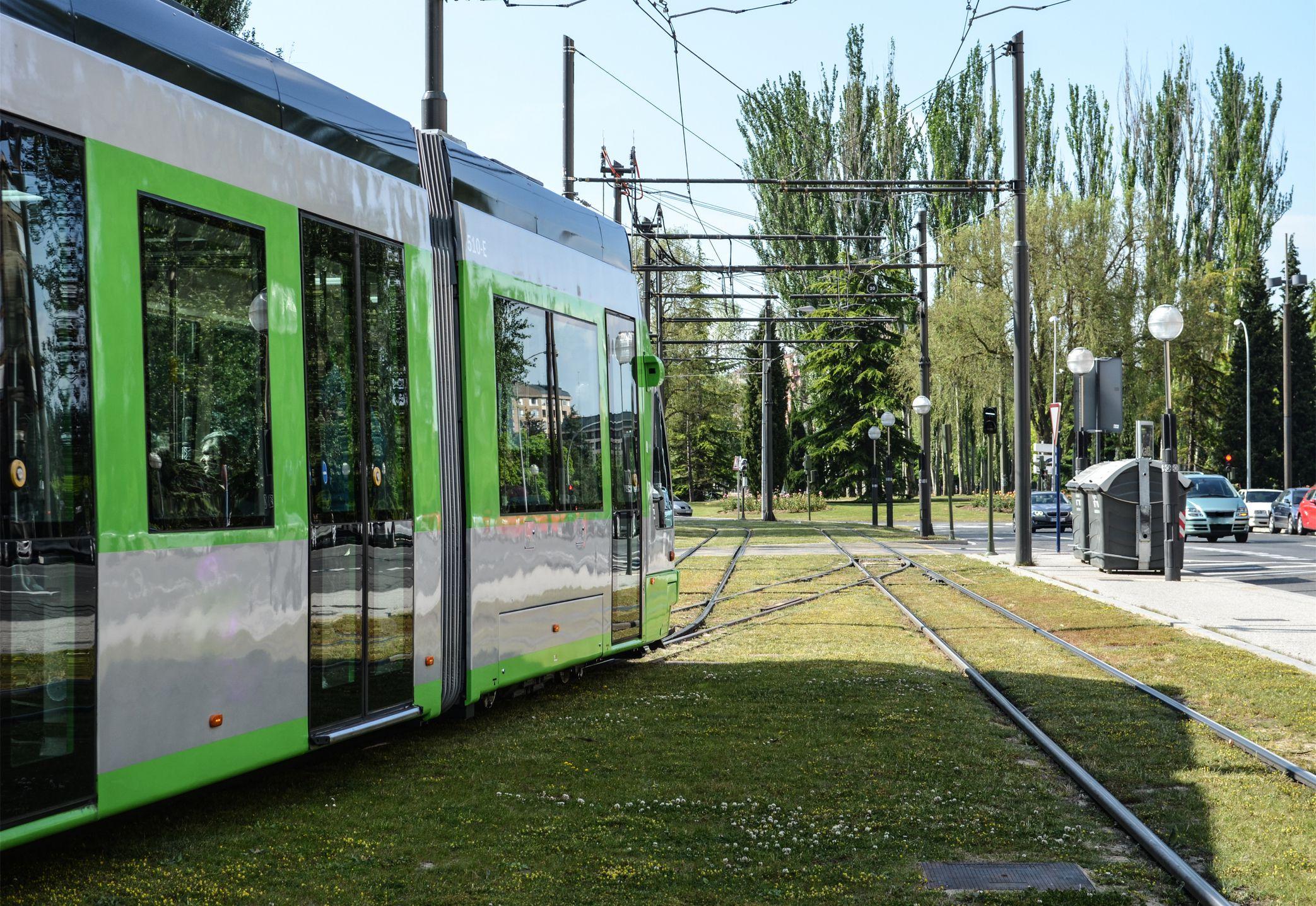 Tramway at Bilbao