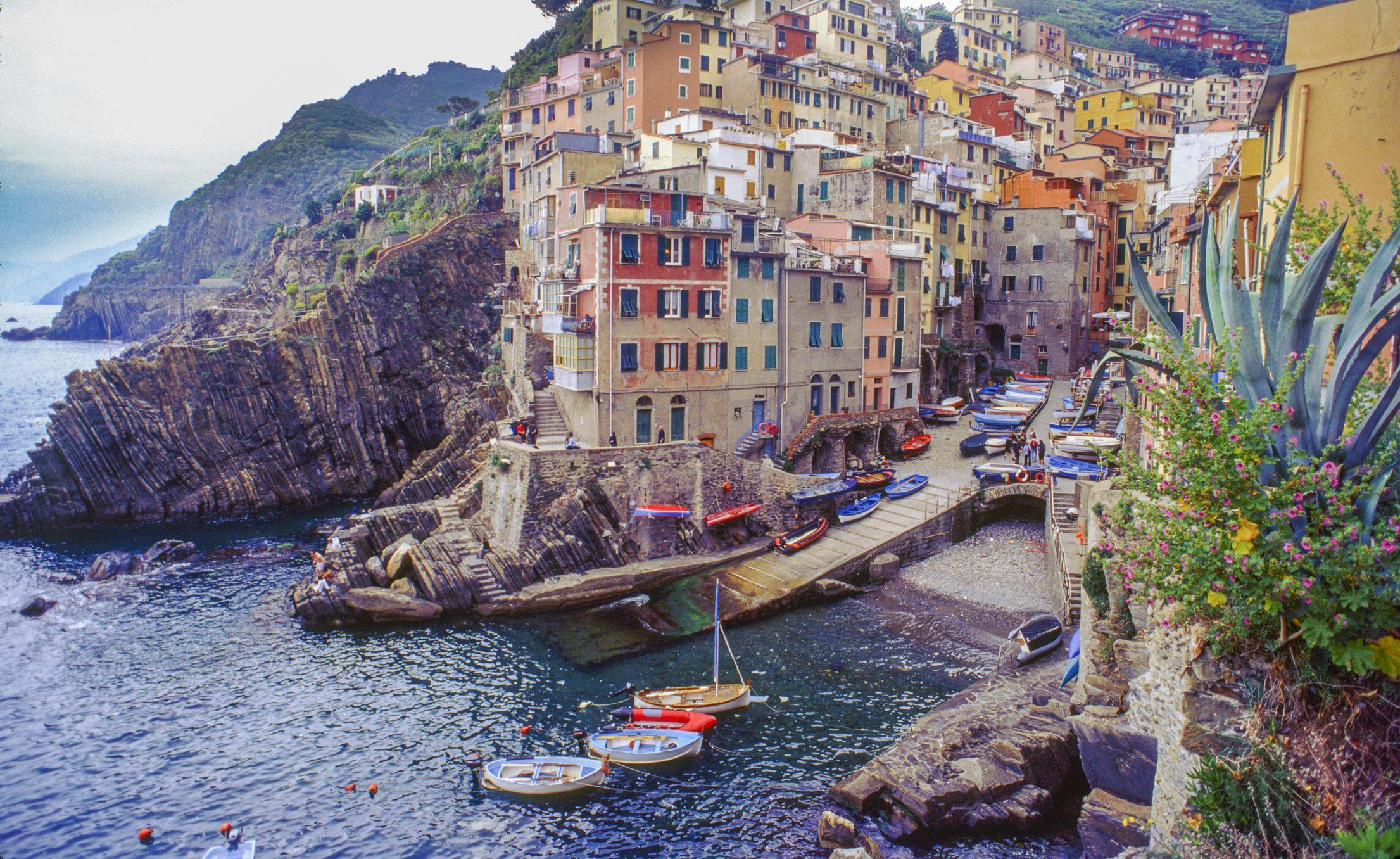Village of Riomaggiore, Cinque Terre Italy