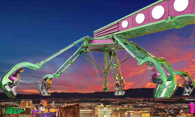 Las Vegas Stratosphere Could You Handle The Rides