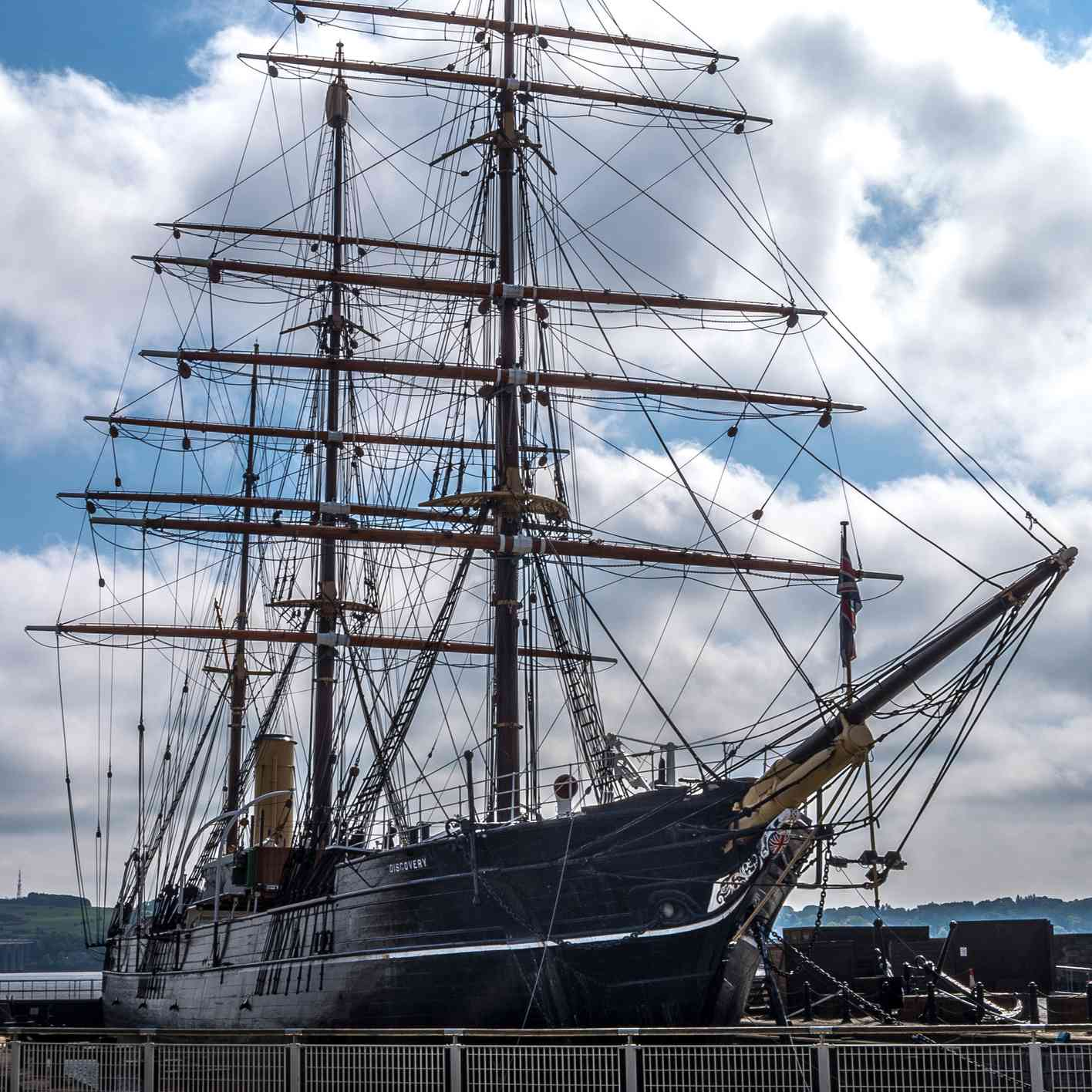 RRS Discover in Dundee
