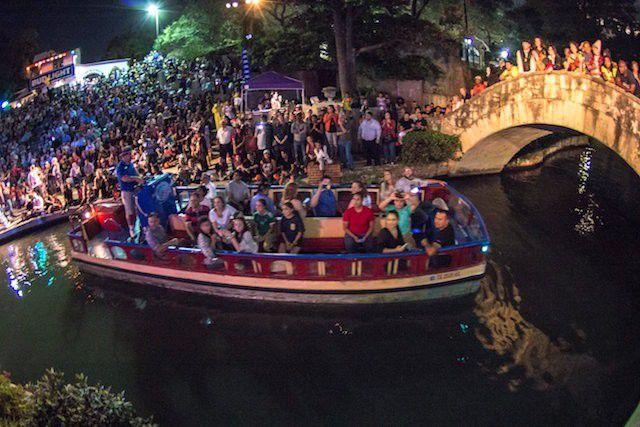 Haunted River parade, San Antonio