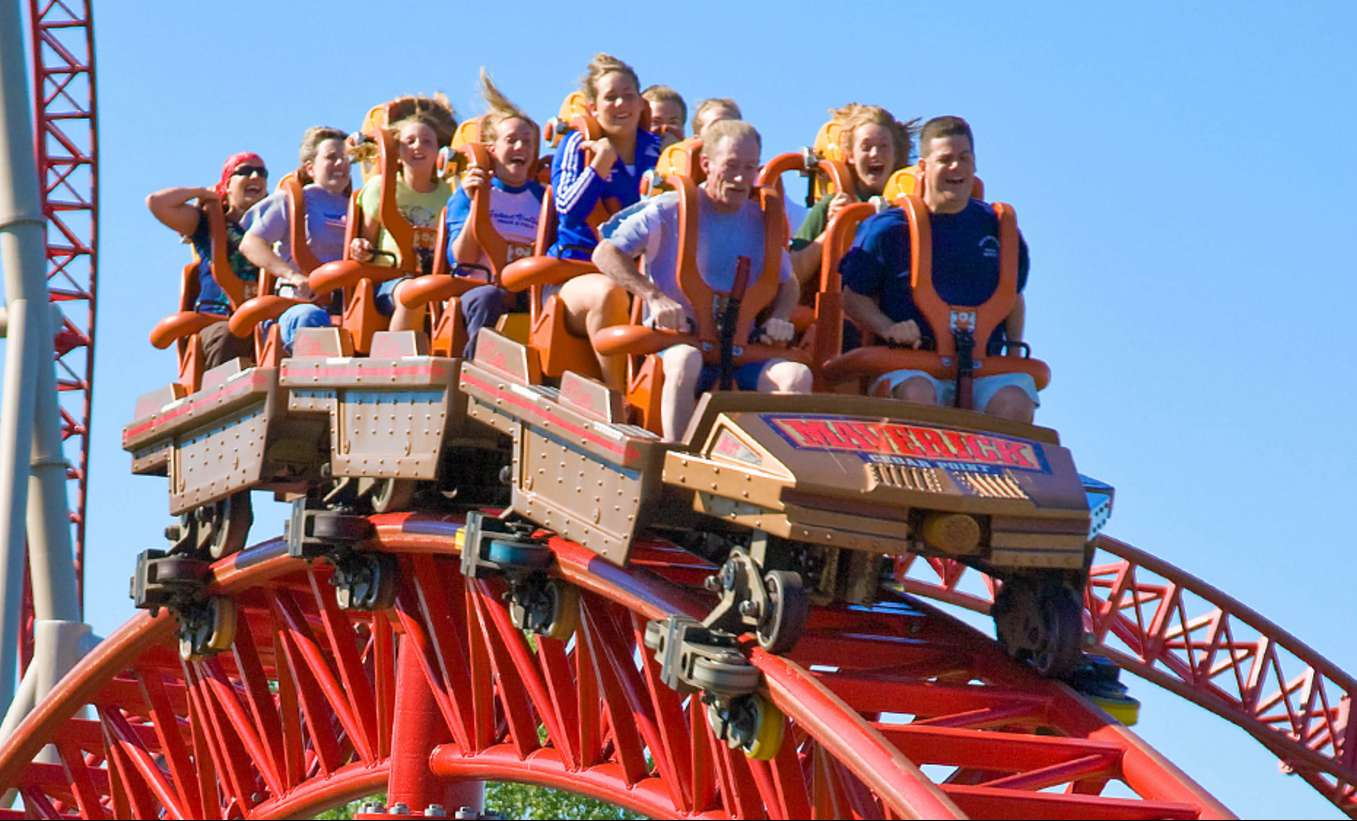 Maverick at Cedar Point Roller Coaster