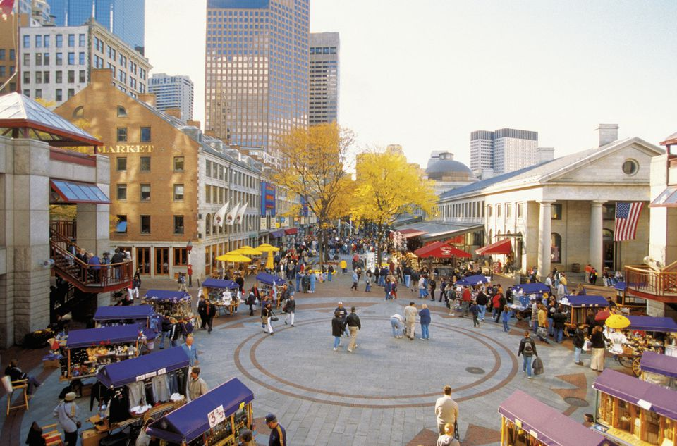 Boston's Faneuil Hall Marketplace