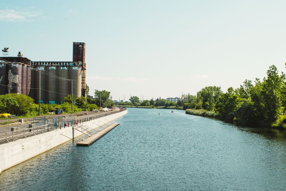 Lachine Canal in Montreal