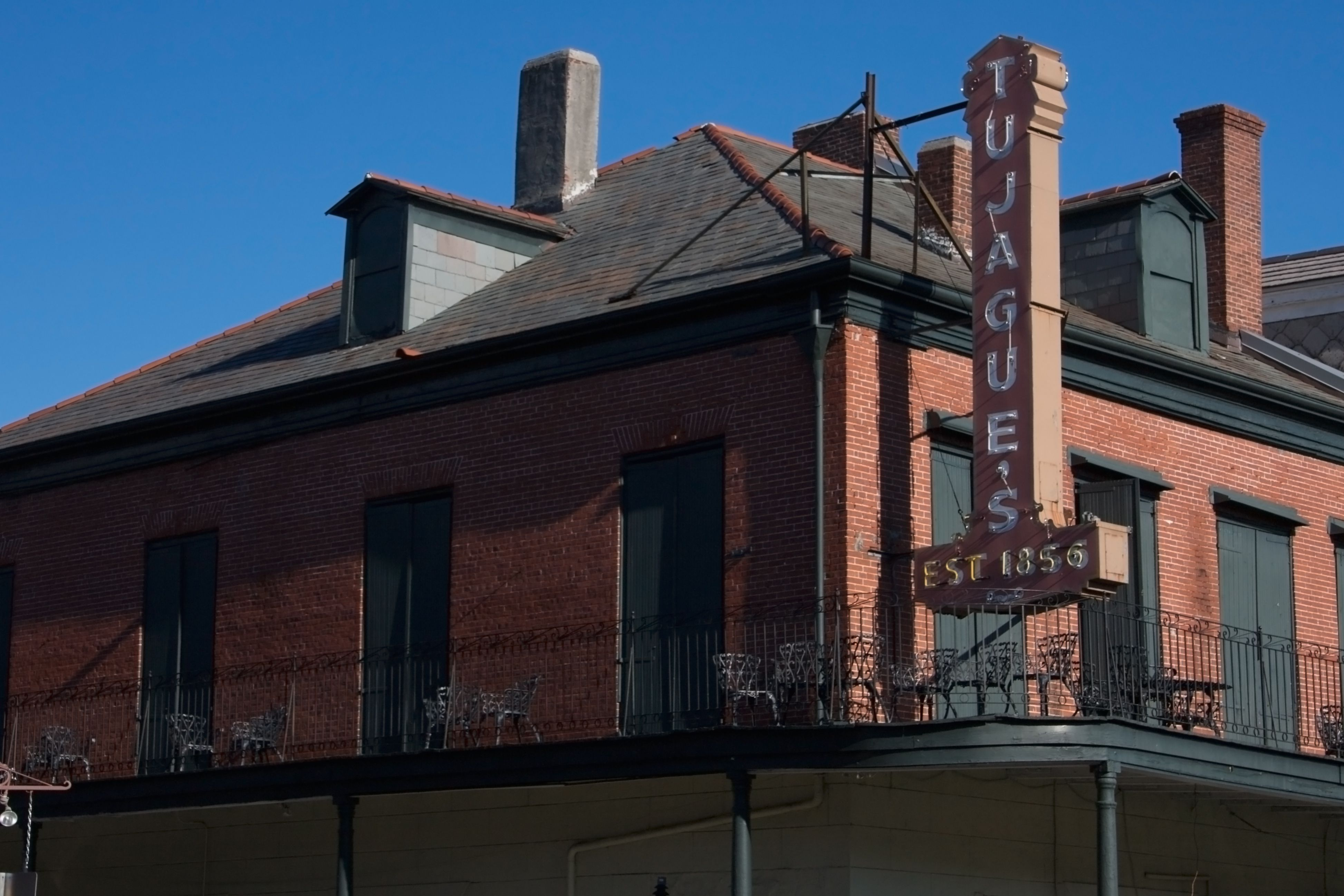 Tujague's Restaurant, Decatur St., New Orleans, Louisiana