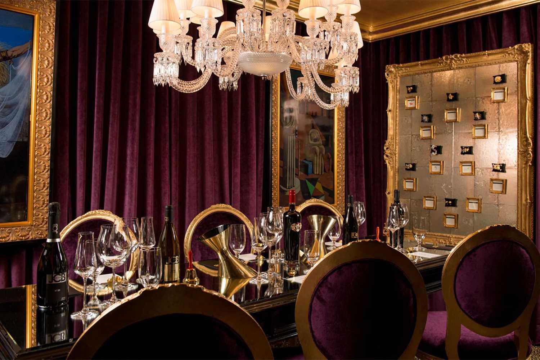JCB Tasting Lounge at the Ritz Carlton
