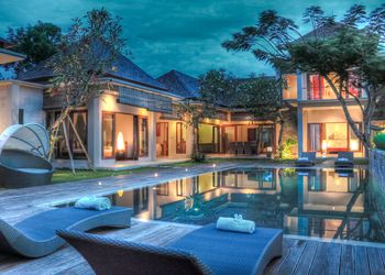 A villa for living and working in Bali