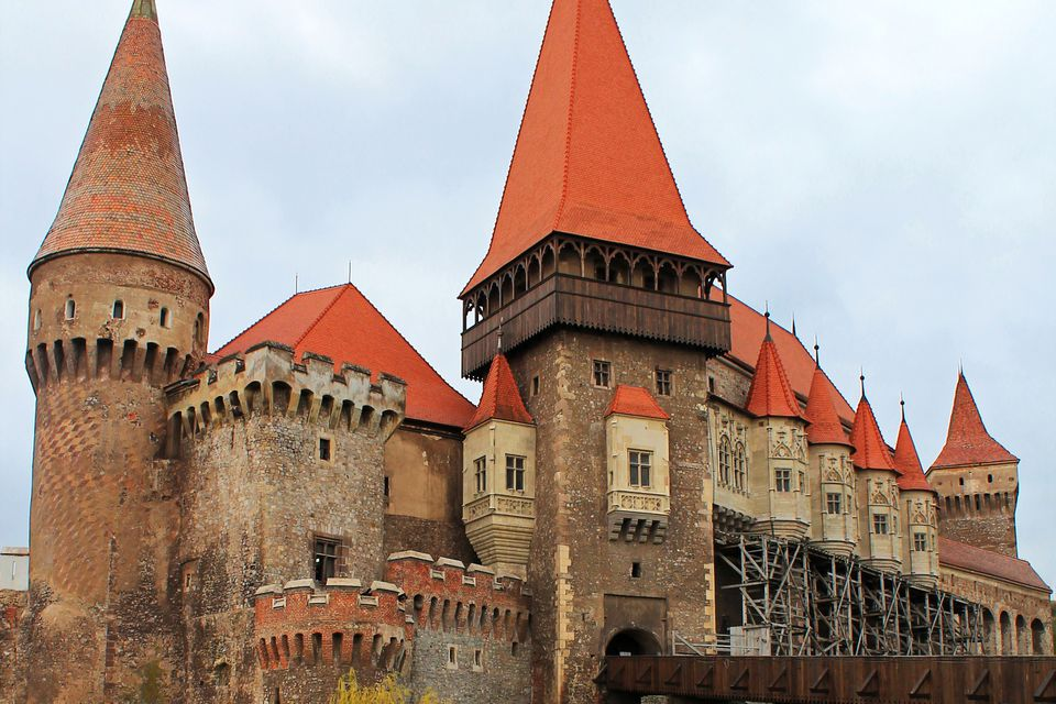 The Hunyad or Corvin Castle, Hunedoara, Transylvania, Romania