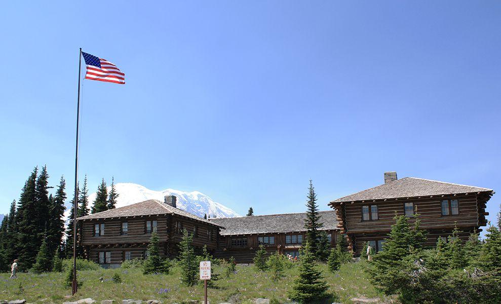 Imagen del Sunrise Visitor Center en el Parque Nacional Mount Rainier