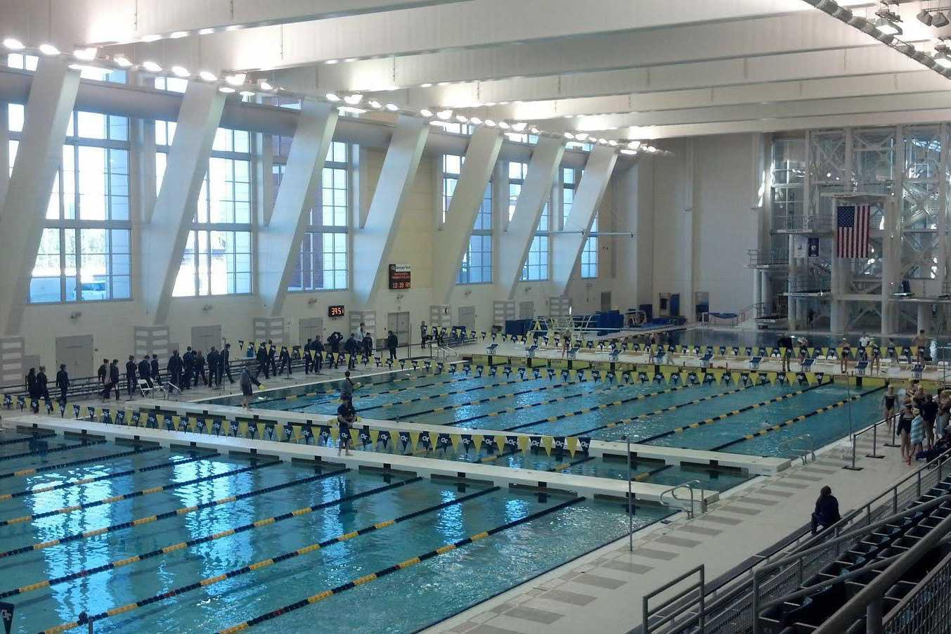 Emory University pool