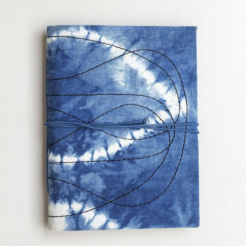 Jungalow river fabric wrapped journal