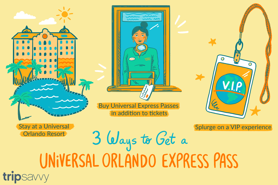 3 Ways to Get a Universal Orlando Express Pass