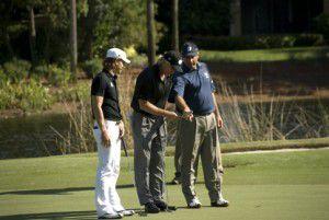 Three for golf