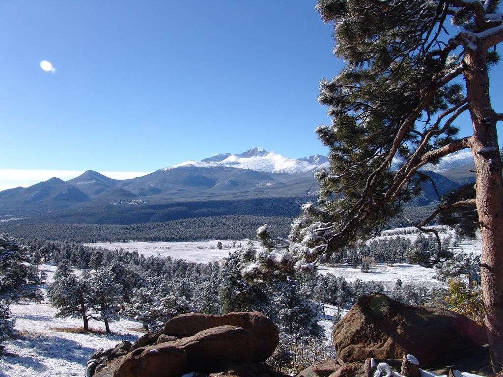 Longs Peak, Rocky Mountain National Park, Colorado