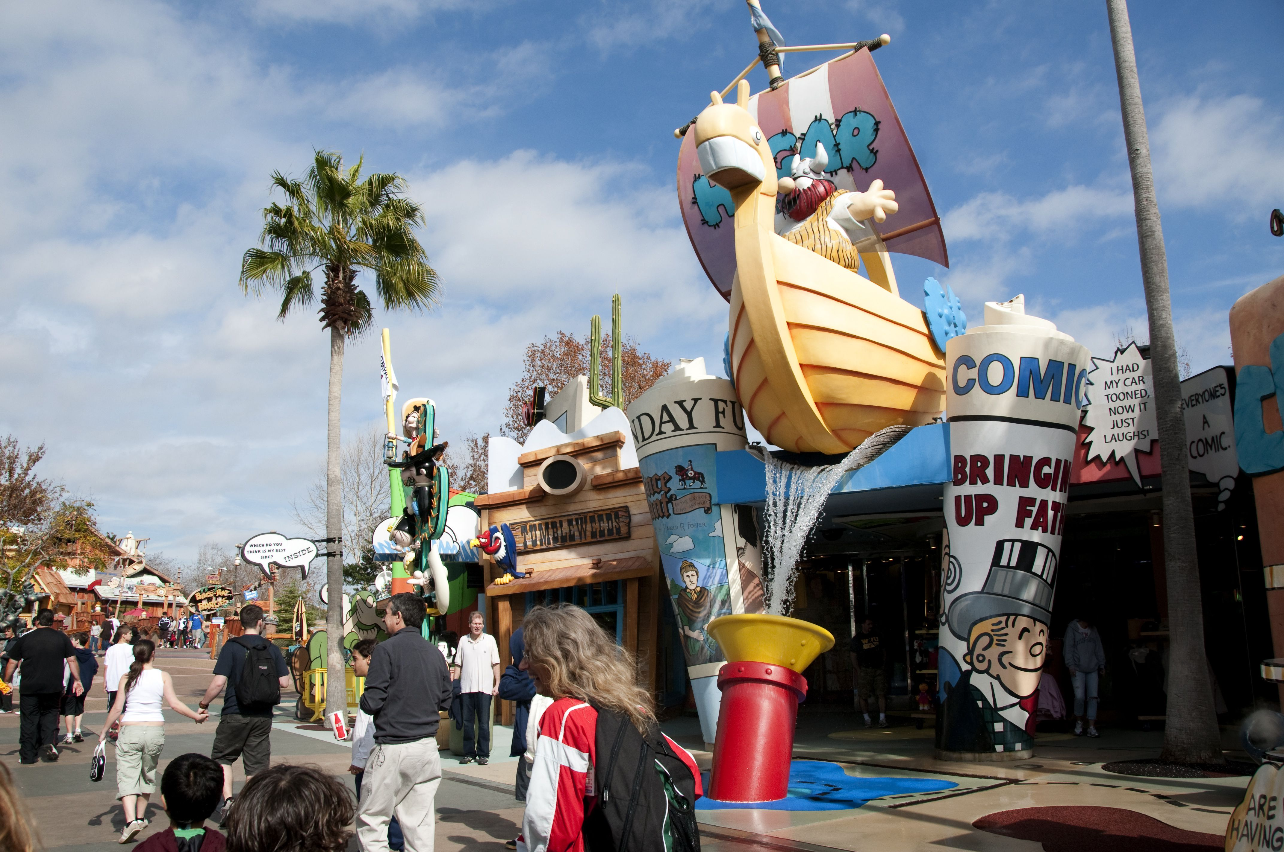 Islands Of Adventure Theme Park Highlights