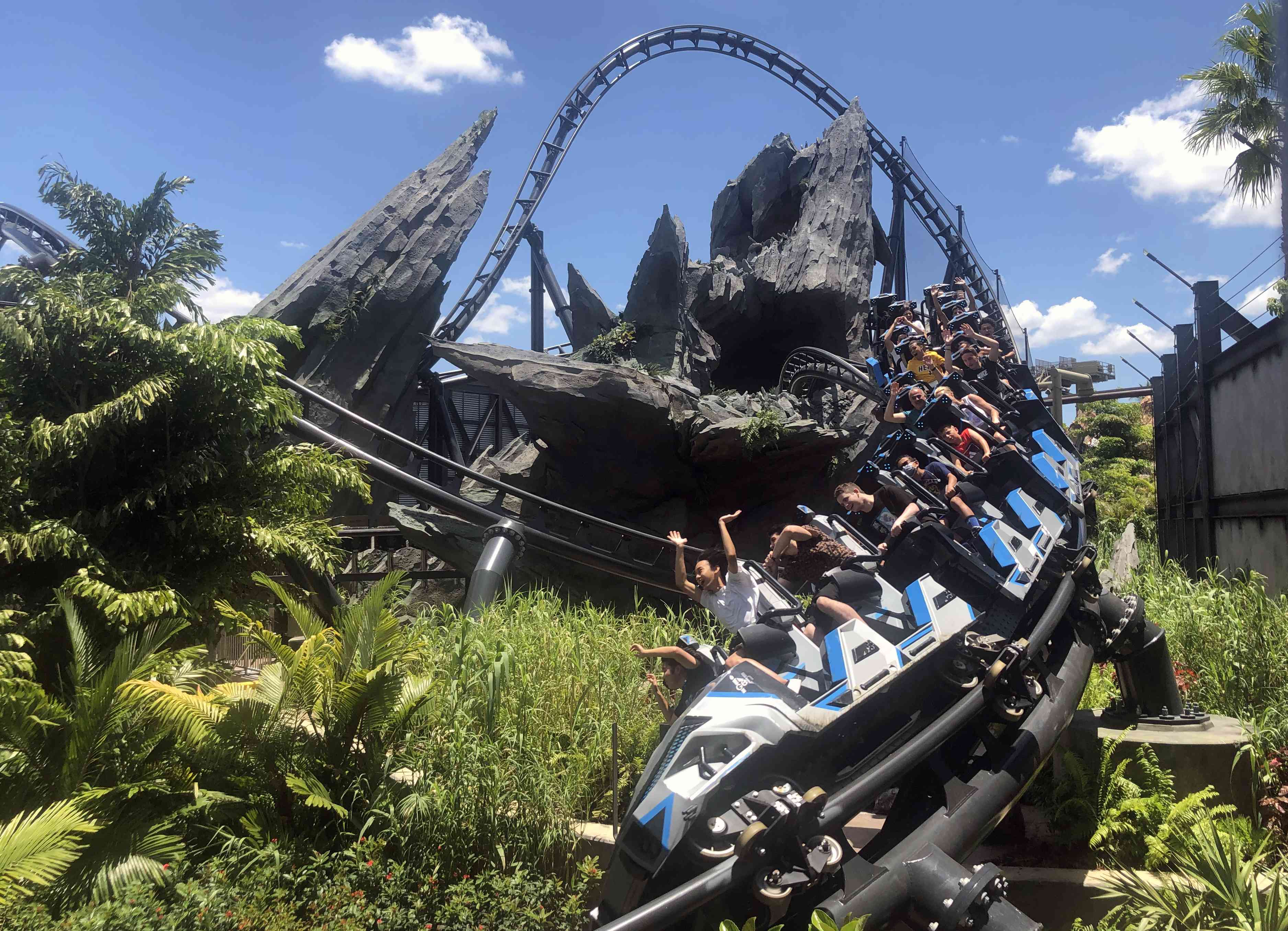 Jurassic World VelociCoaster at Universal Orlando